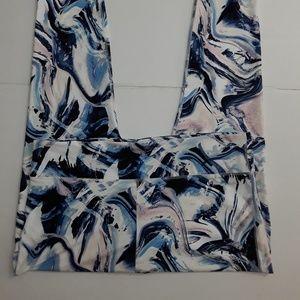 Fabletics Active Plus Pants Blue 2X 18/20 NWT